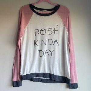 PJ Savage 🍾 Rose All Day Sweater